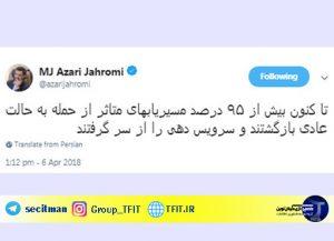 اخبار روز فناوری ایران | حمله سایبری به زیر ساخت کشور | آرشیو اخبار فناوری روز ایران