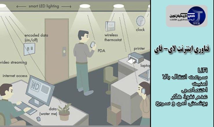 فناوری جدید اینترنت درباره فناوری لای-فای LI-FI چه می دانید؟ | اینترنت لای-فای چیست؟